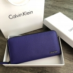 Calvin Klein Blue Long Wallet With Box