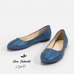 รองเท้าส้นแบนไซส์ใหญ่ 39-46 Shimmery Woven รุ่น CH0139