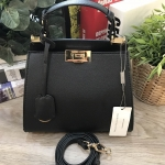 CHARLES & KEITH ANGULAR PUSH-LOCK HANDBAG 2018
