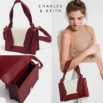 CHARLES & KEITH Knotted Strap Handbag free ถุงผ้า