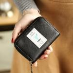 กระเป๋าใส่บัตร Mini Cactus สีดำ