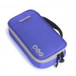 กระเป๋าใส่อุปกรณ์อิเล็กทรอนิกส์ สำหรับใส่อุปกรณ์ไอทีทุกชนิด มีสองชั้น ช่องเยอะพิเศษ มีหูหิ้วพกพาสะดวก (น้ำเงิน)