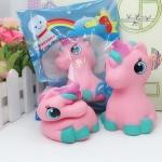 สกุชชี่ ลูกม้ายูนิคอร์น Squishy Pink Marshmallow Unicorn หอม นุ่ม สโลว์ๆ