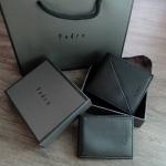 Pedro Leather Bifold Wallet free Gift set กล่อง ถุงผ้า ถุงกระดาษของขวัญ