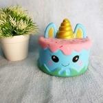 สกุชชี่ เค้กยูนิคอร์น Unicorn Cake Squishy นุ่มๆ สโลว์ๆ ของเล่นสุด Hot Hit