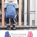 Anello 2 Line Cotton Rucksack Colourful Collection มีให้เลือกหลายสีค่ะ