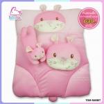 ที่นอนเด็กอ่อน ผ้ากำมะหยี่ Velvet รูปกระต่ายแสนน่ารัก