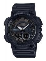นาฬิกาข้อมือ CASIO ชาย-หญิง STANDARD ANALOG-DIGITAL รุ่น AEQ-110W-1BV
