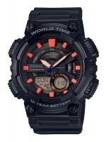 นาฬิกาข้อมือ CASIO ชาย-หญิง STANDARD ANALOG-DIGITAL รุ่น AEQ-110W-1A2V