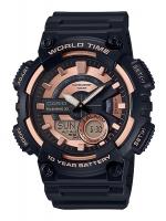 นาฬิกาข้อมือ CASIO ชาย-หญิง STANDARD ANALOG-DIGITAL รุ่น AEQ-110W-1A3V