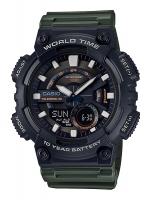 นาฬิกาข้อมือ CASIO ชาย-หญิง STANDARD ANALOG-DIGITAL รุ่น AEQ-110W-3AV