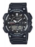 นาฬิกาข้อมือ CASIO ชาย-หญิง STANDARD ANALOG-DIGITAL รุ่น AEQ-110W-1AV
