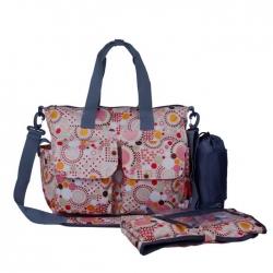 Ecosusi กระเป๋าสัมภาระคุณแม่ ช่วยจัดระเบียบของให้ลูกน้อย กันน้ำ ช่องเยอะ (ECOSUSI Large Diaper Tote Baby Mummy Bag)