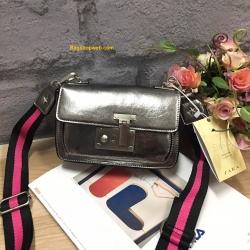 กระเป๋า ZARA MULTICOLOURED CROSSBODY BAG เมทัลลิค ราคา 1,190 บาท Free Ems