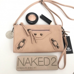 กระเป๋าครัท KEEP Milan shoulder &clutch bag สีชมพู ราคา 1,190 บาท Free Ems