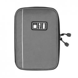 กระเป๋าใส่อุปกรณ์อิเล็กทรอนิกส์ สำหรับใส่อุปกรณ์ไอที มีช่องใส่ SIM, SD CARD ฮาร์ดดิสก์เฉพาะ (Grey)