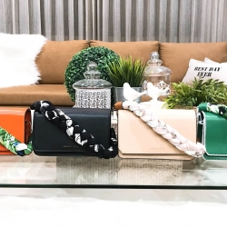 CHARLES & KEITH Scarf Wrapped Handle Bag 2018 มี 4 สีพร้อมส่งค่ะ