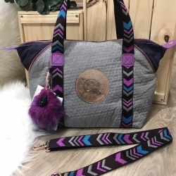KIPLING ART TOTE BAG Limited Edition Nylon+Polyester 100% *สินค้า outlet