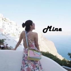 Mine Jewelry Puzzle Medium Bowler Bag 2018 free ถุงผ้า มี 7 สีให้เลือกค่ะ