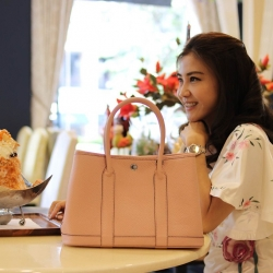 Mine Party Genuine Leather Bag 2018 free ถุงผ้า