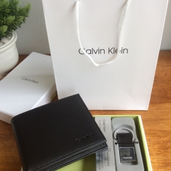 Calvin Klein Box Set For Men Wallet & Clip free ถุงกระดาษ