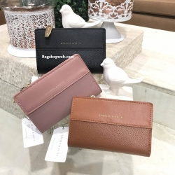 CHARLES & KEITH Stitched Detail Wallet 2017
