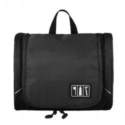 กระเป๋าใส่อุปกรณ์อาบน้ำ ใส่ขวดได้ แขวนได้ ทนทาน สำหรับเดินทาง ท่องเที่ยว พกพาสะดวกมี 3 สีให้เลือก