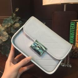 กระเป๋าสะพายข้าง CHARLES & KEITH PUSHLOCK CROSSBODY BAG ขนาดมินิน่ารัก ราคา 1,390 บาท Free Ems