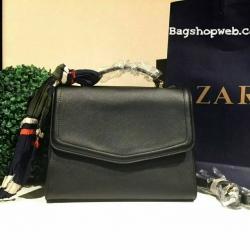 กระเป๋า ZARA Convertible Backpack With Scarf 2016
