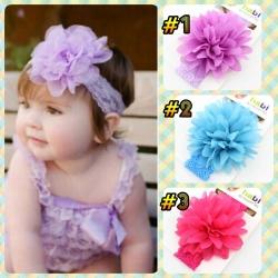 HB053••ที่คาดผมเด็ก•• (มี 3 สี)