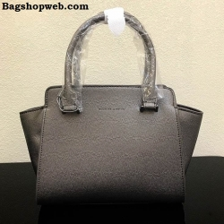 กระเป๋าถือสะพาย CHARLES & KEITH TOP HANDLE TRAPEZE BAG ขนาดกลาง