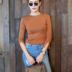 Amory Genuine Leather Handbag New Year Gift 2018 มี 3 สีให้เลือก
