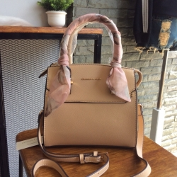 CHARLES & KEITH Scarf Wrapped Top Handle Bag free ถุงผ้า
