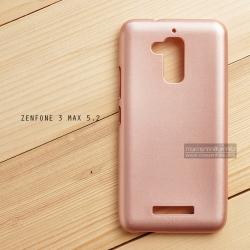 """เคส Zenfone 3 Max ZC520TL (5.2"""" นิ้ว) เคสนิ่มผิวเงา (MY COLORS) สีโรสโกลด์"""