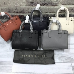 CHARLES & KEITH BASIC TOP HANDLE BAG