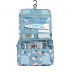DINIWELL กระเป๋าใส่อุปกรณ์อาบน้ำ แขวนได้ สำหรับเดินทาง ท่องเที่ยว พกพาสะดวก ผลิตจากโพลีเอสเตอร์คุณภาพสูง