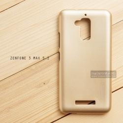 """เคส Zenfone 3 Max ZC520TL (5.2"""" นิ้ว) เคสนิ่มผิวเงา (MY COLORS) สีทอง"""
