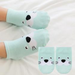 SK066••ถุงเท้าเด็ก•• แมวน้ำ (ข้อสั้น)