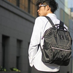 Anello x Collective Nylon & PU Large Backpack ราคา 1,490 บาท Free Ems