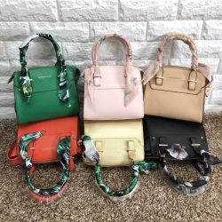 CHARLES & KEITH Scarf Wrapped Top Handle Bag free ถุงผ้า มี 6 สีให้เลือกค่ะ