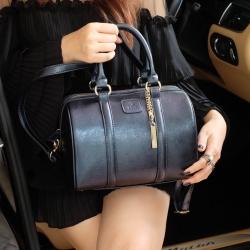 KEEP leather Pillow bag Blue Wink สินค้าแท้จากshop