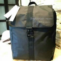 กระเป๋าเป้ CALVIN KLEIN JEANS NYLON BACKPACK กระเป๋าสะพายเป้ใบใหญ่สไตล์สุด Cool รุ่น Limited Edition จาก Calvin Klein Jeans Counter