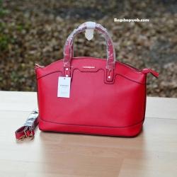 กระเป๋า MANGO SAFFIANO-EFFECT TOTE BAG สีแดง ราคา 1,090 บาท Free Ems