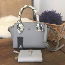 กระเป๋า KEEP Infinite Office Bag สีเทา ราคา 1,590 บาท Free Ems