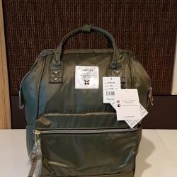 กระเป๋า Anello Nylon Mini Square สี Khakhi ราคา 1,390 บาท Free Ems