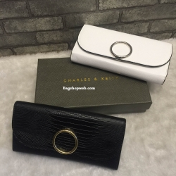 CHARLES & KEITH CIRCULAR BUCKLE WALLET