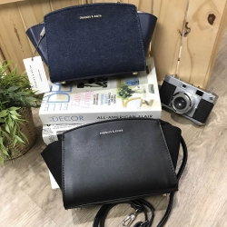 Charles & Keith Trapeze Sling Bag free ถุงผ้า *สินค้า outlet