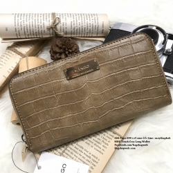 MNG Touch Croc Long Wallet