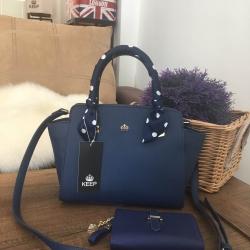 กระเป๋า KEEP Infinite Office Bag สีกรมท่า ราคา 1,490 บาท Free Ems