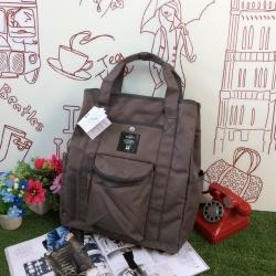 กระเป๋า Anello polyester canvas Tote style rucksack รุ่นใหม่ เบอร์ 2